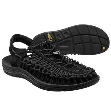 KEEN 彈性編織涼鞋