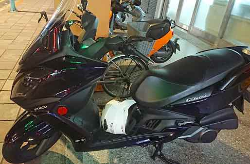 自售2016 光陽頂客300i、黑耀紫色