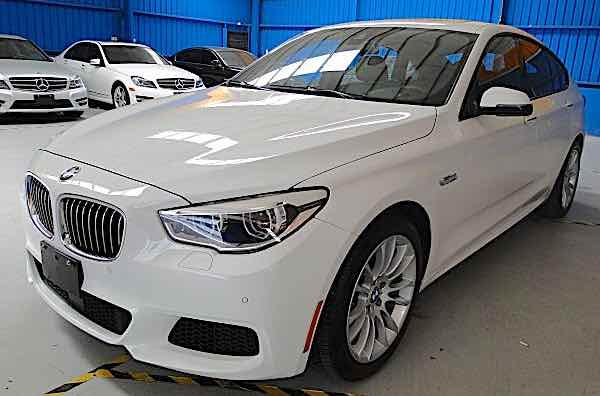 2014 BMW 535GT M版 LED頭燈 抬顯