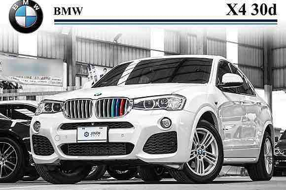 2015 BMW X4 30d M-Sport 總代理