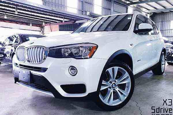 2016年 BMW X3 sDrive 珍珠白