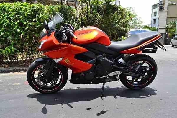 2011 Kawasaki  ER6F 行駛28000km
