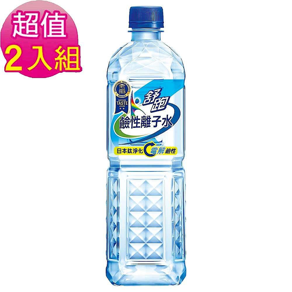 舒跑鹼性水 2箱組