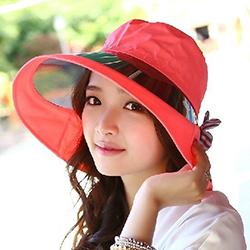 防潑水抗UV護頸遮陽帽