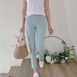 正韓365天都可以穿彈性顯瘦長褲S-XL(4色)