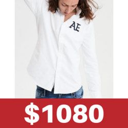 AE牛津襯衫