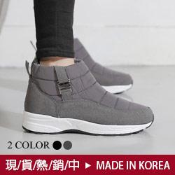 正韓防潑水休閒短靴