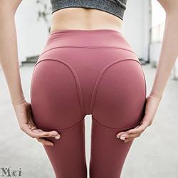 蜜桃臀修身提臀彈力瑜伽褲【4色S~L】