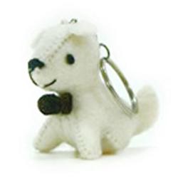 狗狗造型鑰匙圈(六款)