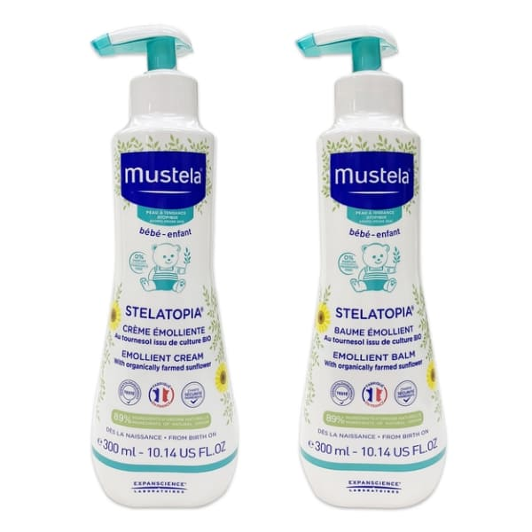 Mustela - 柔舒霜 300ml/1瓶