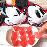 米奇造型味覺糖(草莓)