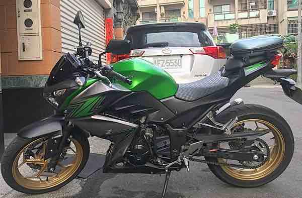 自售2016 z300 川崎 少騎 300cc