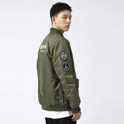 18AW布章MA-1鋪棉飛行外套