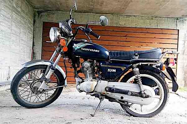自售三陽 野狼 PA12M3 藍色油箱