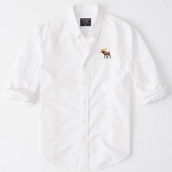 AF彩色大麋鹿牛津襯衫