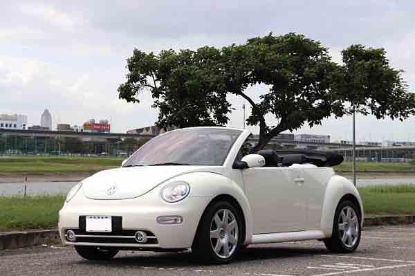 05年VW Beetle 敞篷車