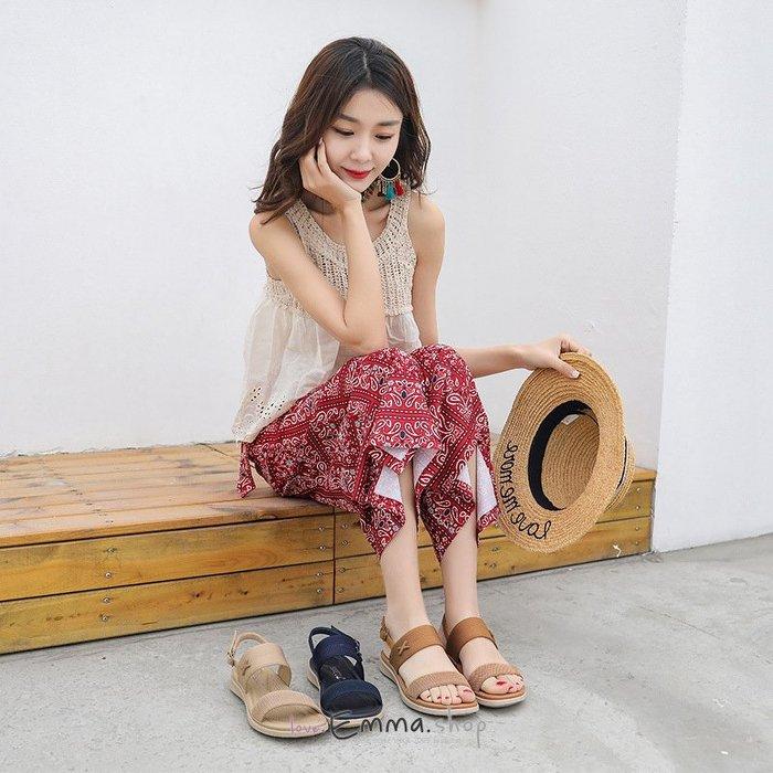 韓妞必備透氣網布軟底樂福鞋