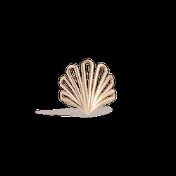 Deco Fan Gold Ring
