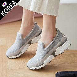 舒適針織彈性休閒鞋