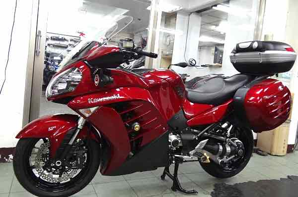 川崎新款GTR 1400 ABS