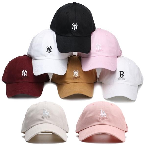 MLB 大聯盟 老帽 男女皆可戴 可調