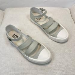 山本風透氣鏤空帆布鞋