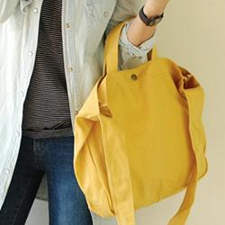 日式素面文青帆布包