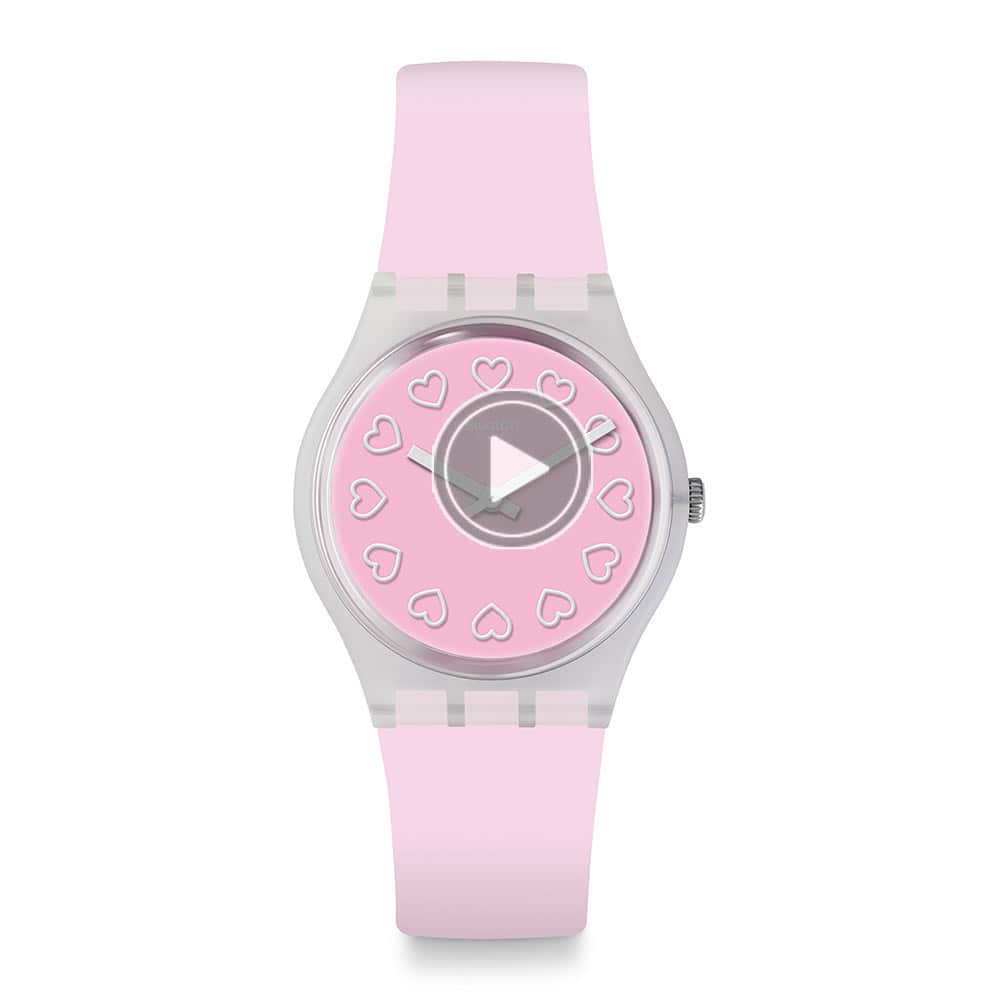 Swatch  Love is in the Air系列ALL PINK就