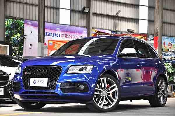 Audi SQ5 2016 藍