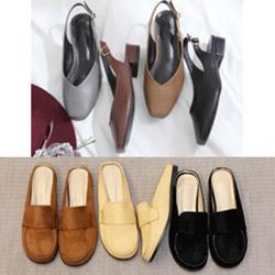 韓國超夯露跟平底便鞋