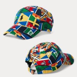 Polo RL 航海旗 成人款老帽