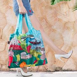 防潑水摺疊環保購物袋