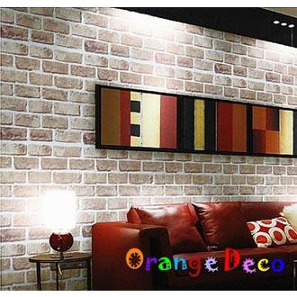 磚紋風格 DIY組合壁貼