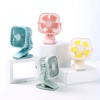 可夾式小型電風扇