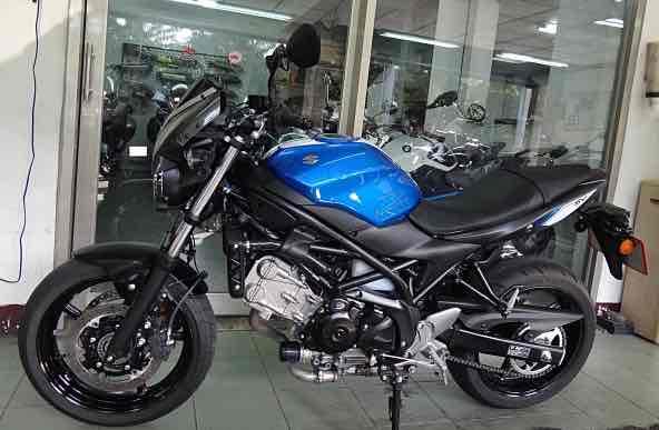 SUZUKI SV 650 ABS...2018年6月