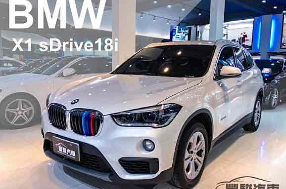 2018年 BMW X1 sDrive18i