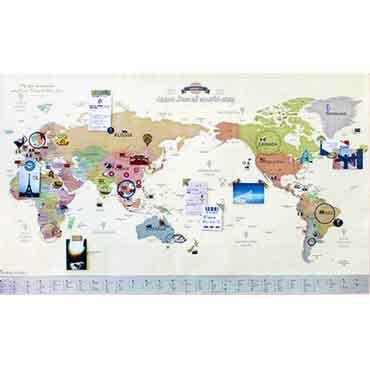 Indigo 環遊世界地圖