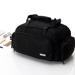 簡約防水大容量機能旅行袋