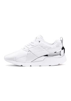 PUMA-Muse X-2 Metallic 女性復古休閒鞋-白色
