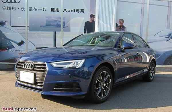 2017 A4 Sedan 30 TFSI Luxury