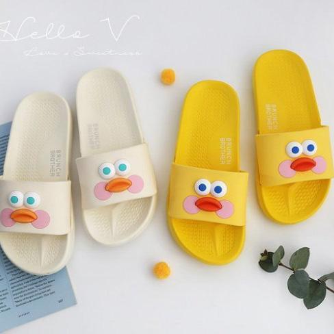 正韓可愛小雞好穿拖鞋