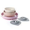 MINIWARE 天然寶貝碗 竹纖維兒童餐具五入組