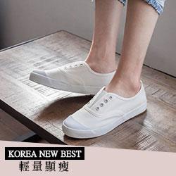韓國空運V口小清新休閒便鞋