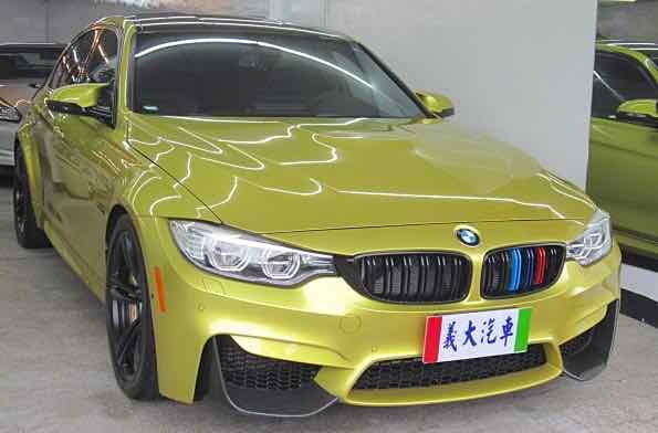 2015 BMW M3 Sedan 陶瓷煞車系統