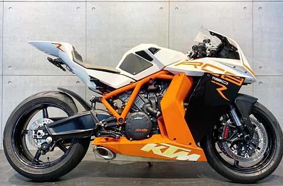 2013 KTM RC8