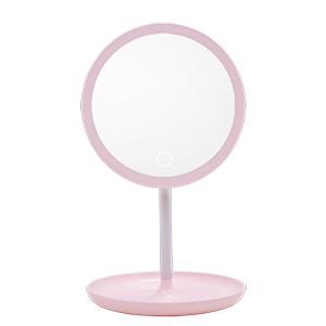 LED 蘋果心肌化妝鏡檯燈