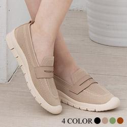 韓國針織透氣懶人鞋