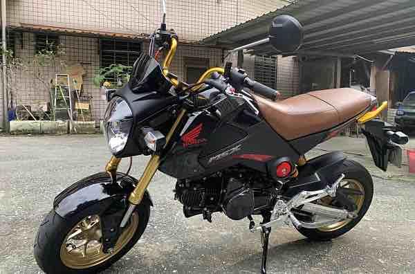 Honda Msx125 2015 4月出廠