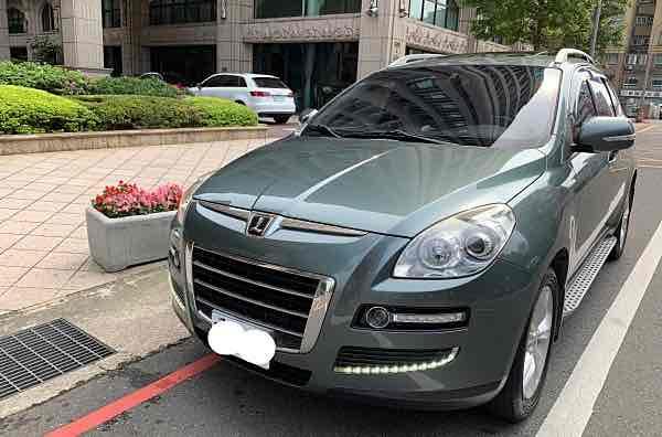 自售2010年底 納智捷SUV 6安全氣囊