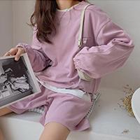 韓國設計感寬鬆款套裝